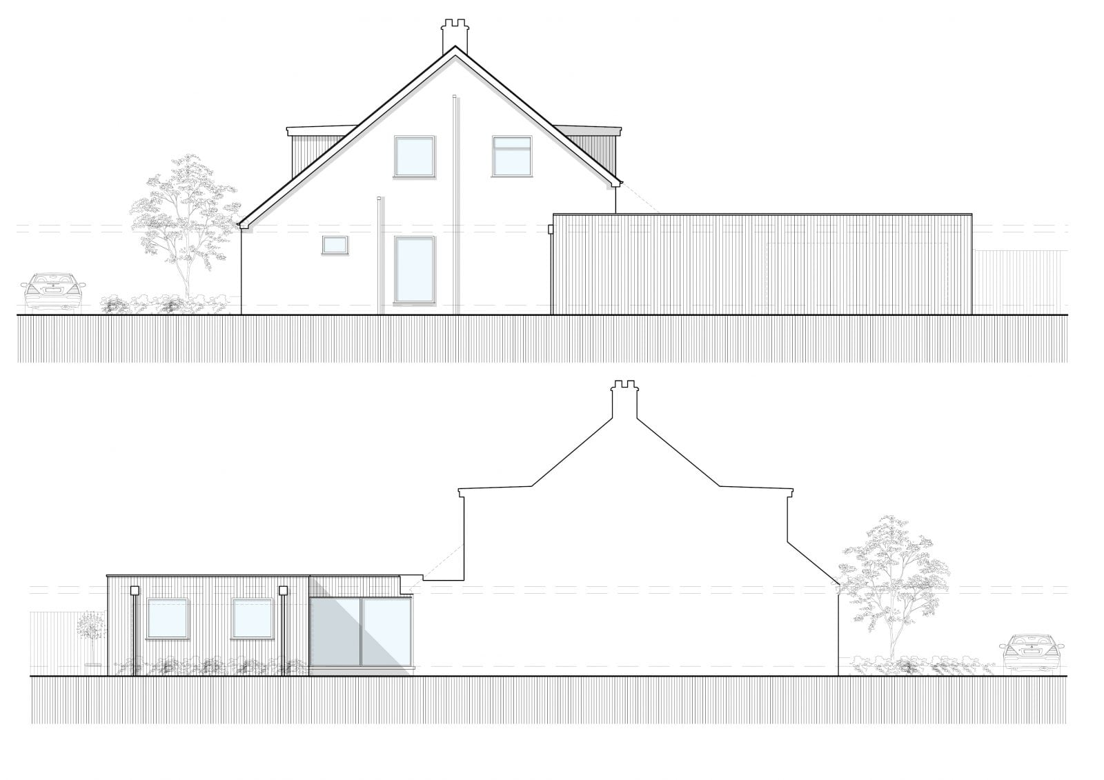 Proposed Elevations Colored