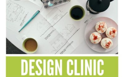 Only one week left to book for our FREE Design Clinic.