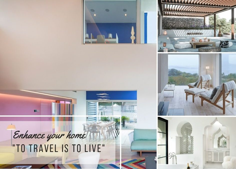 TRAVEL INSPIRED HOMES