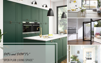 DESIGN MATTERS – OPEN PLAN LIVING SPACE DO's and DON'T's