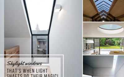 Skylight windows. When light shafts do their magic!